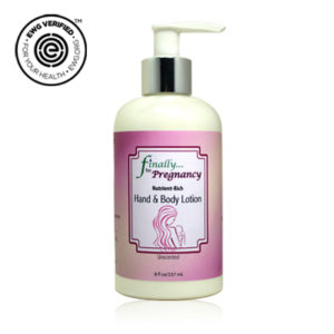 Unscented Lotion for Pregnancy