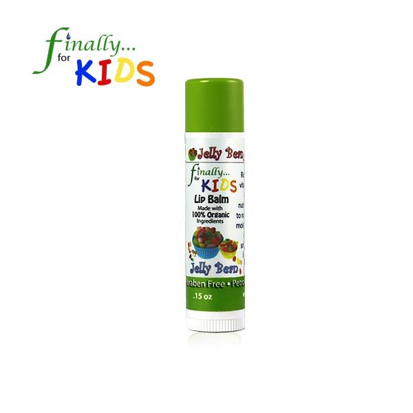 Kids Organic Jelly Bean Lip Balm
