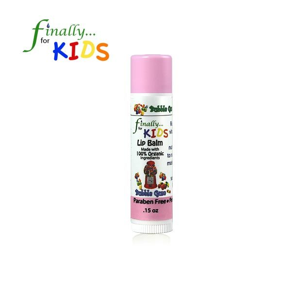 Kids Organic Bubble Gum Lip Balm